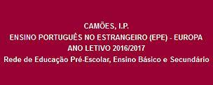 Ensino Português no Estrangeiro (EPE) - Europa – Ano Letivo 2016/2017