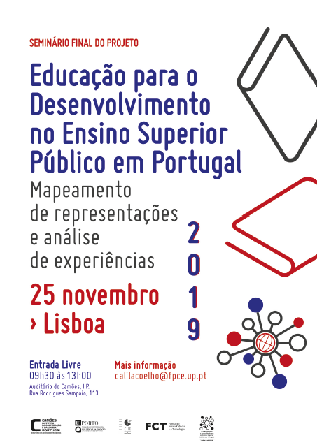"""Apresentação de Estudo """"A Educação para o Desenvolvimento no Ensino Superior Público em Portugal"""""""