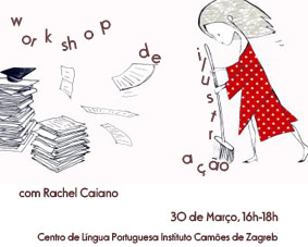 Workshop de Ilustração com Rachel Caiano